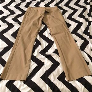 The Limited Exact Stretch Bootcut Pants Dark Tan